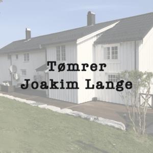 Tømrer Joakim Lange
