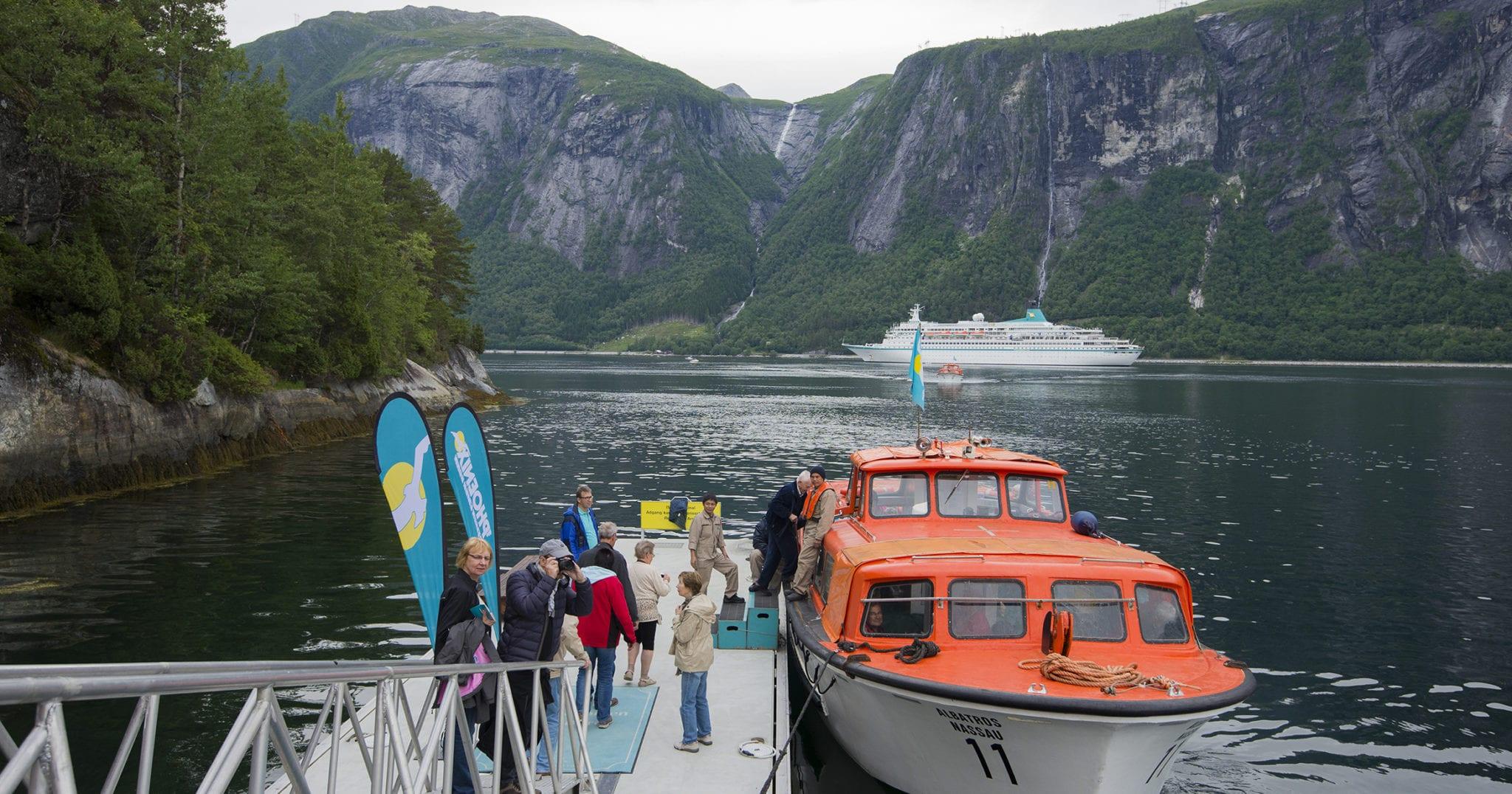 Turistskip Eresfjord 2019